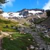 glacier Martial, au-dessus d'Ushuaïa