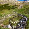 au dessus d'Ushuaïa, vers le glacier Martial