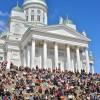 Tuomiokirkko, la cathédrale luthérienne d'Helsinki (architecte : Carl Ludwig Engel)