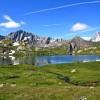 lacs de fenêtre (2459m)
