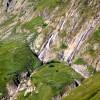 cascade sur La Maye, face à La Fouly
