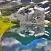 lac de fenêtre (image hdr)